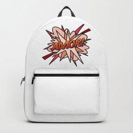 Comic Book AMOR! Backpack