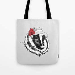 Madame Mouffette Tote Bag