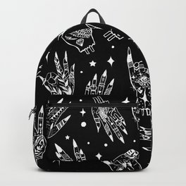 Floating Witchy Goth Hands Backpack