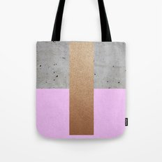 Abstract Lilac Pattern Tote Bag
