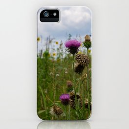 Sprouting Flowers iPhone Case