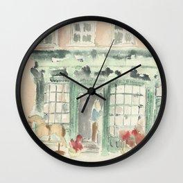 Covent Garden Shop Wall Clock