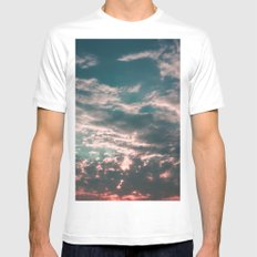 Days to Come White MEDIUM Mens Fitted Tee