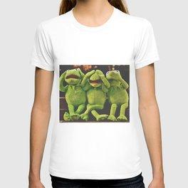 Hear No Evil, See No Evil, Speak No Evil--Haha! T-shirt