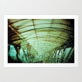 Broken Glass Art Print