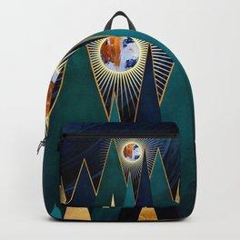 Metallic Peaks Backpack