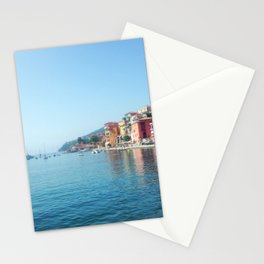 Morning in Villefranche-sur-Mer Stationery Cards
