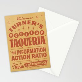 Turner's Rooftop Taqueria Stationery Cards