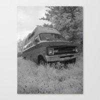 truck Canvas Prints featuring Truck by Jean-François Dupuis