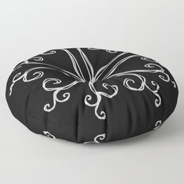 Five Pointed Star Series #10 Floor Pillow