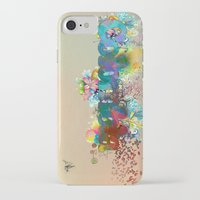 colombia iPhone & iPod Cases featuring Colombia by LinaG