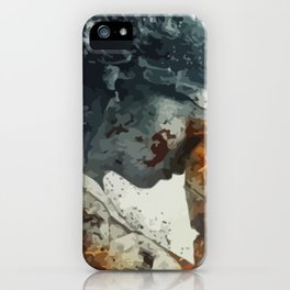 The Weeping Angel iPhone Case