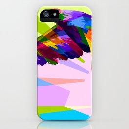 Animal colorful decoration eagle iPhone Case