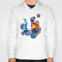 robots Hoodies featuring Robots by aboutlaila