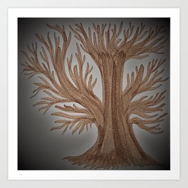 Tree of Constance Art Print