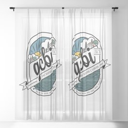 Great Commission Bible Institute Lake Denton - 2 Sheer Curtain