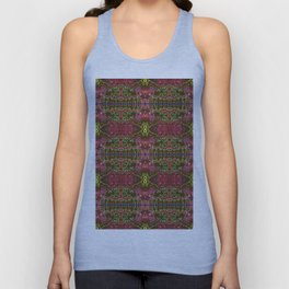 pattern stream of conciousness Unisex Tank Top