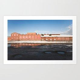 Industry Artifacts 01 Art Print