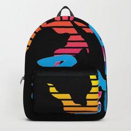 Praise The Sun blue Backpack