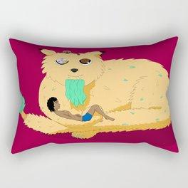 Geezer Cat Rectangular Pillow