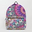Colorful Ornate Mandala by perkinsdesigns