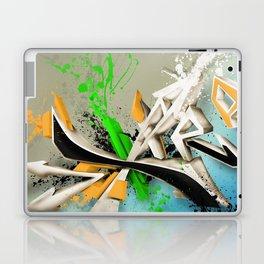 Extra grafitti 3d abstract design Laptop & iPad Skin