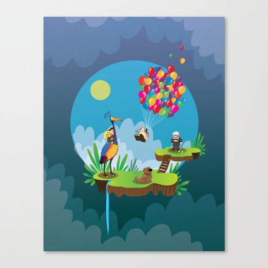 UP Canvas Print
