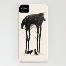Standing Tall iPhone (4, 4s) Slim Case