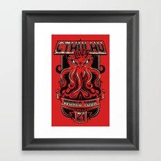 Cthulhu Lives Framed Art Print