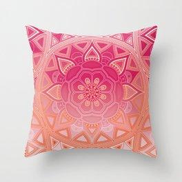 Mandala my new creation XIV Throw Pillow