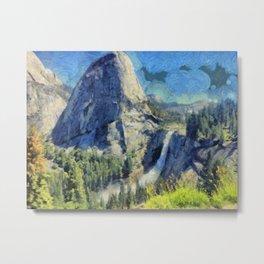 Nevada Falls, Yosemite Metal Print
