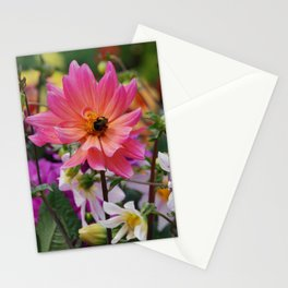 Flowering meadow Stationery Cards
