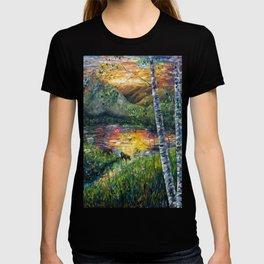 Sleeping Meadow (palette knife) T-shirt