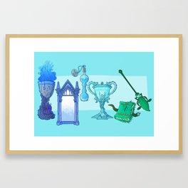Huevember Light Blue Framed Art Print