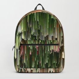 Ever Green Cascade Abstract Backpack