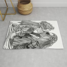 Clexa Wedding Rug