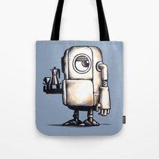 Robot Espresso #2 Tote Bag
