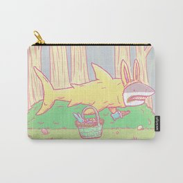 The Easter Bunny Shark Carry-All Pouch