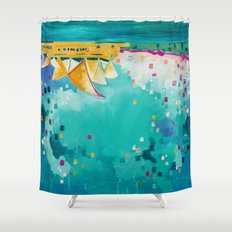 Downunder Shower Curtain