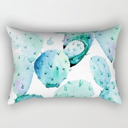 Cactus commotion II Rectangular Pillow