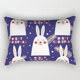 Mery Bunny Rectangular Pillow