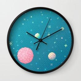 Brain Planet (8bit) Wall Clock