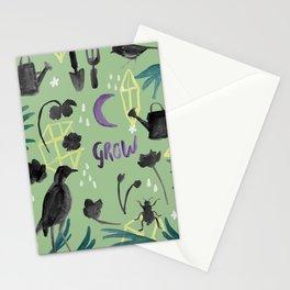 Gardener's Journal - Green Stationery Cards