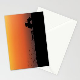 Ploughing the Field Stationery Cards