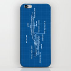 ENTERPRISE NCC-1701-D iPhone & iPod Skin