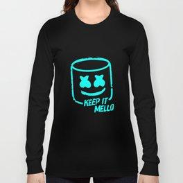 Marshmello - Keep It Mello Light Blue Long Sleeve T-shirt
