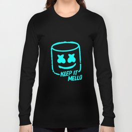 Marshmello - Keep It Mello Light Blue Long Sleeve T-shirt