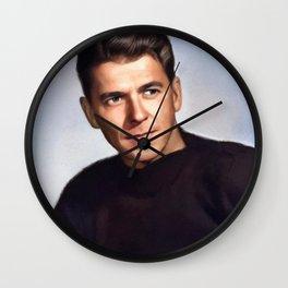 Ronald Reagan, Actor and President Wall Clock
