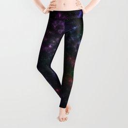 Violet Stars Leggings