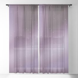 The Galaxy Sheer Curtain